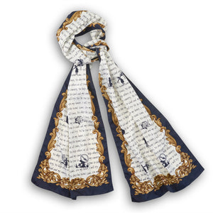 oblong promise scarf - 04513