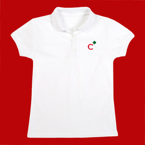Girl Scout Cadette Polo Shirt Small - 05221