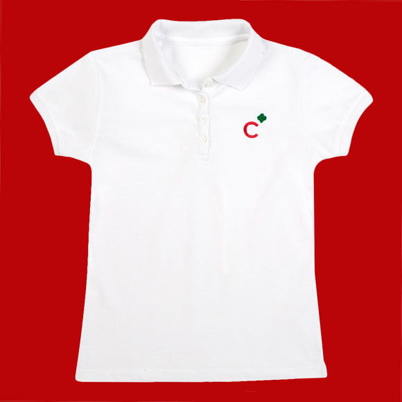 Girl Scout Cadette Polo Shirt Medium - 05222