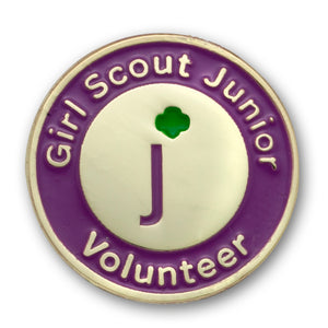 GS JUNIOR VOLUNTEER PIN - 09053