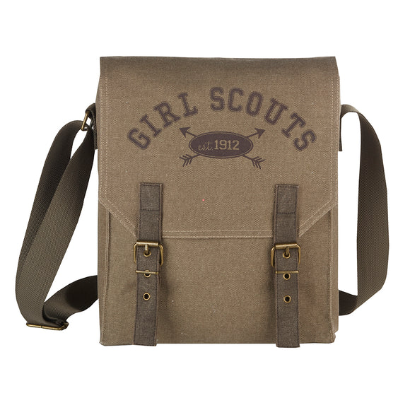 KHAKI MESSENGER BAG - 11902