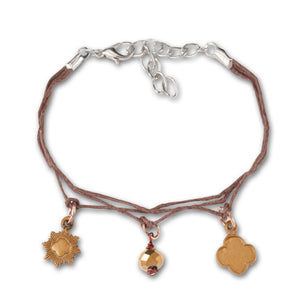 BRONZE FRIENDSHIP BRACELET - 12324