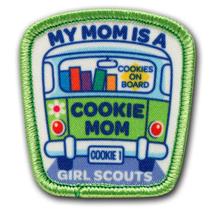My Mom is a Cookie Mom Patch - 18244