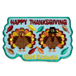 thanksgiving turkeys patch - 18402