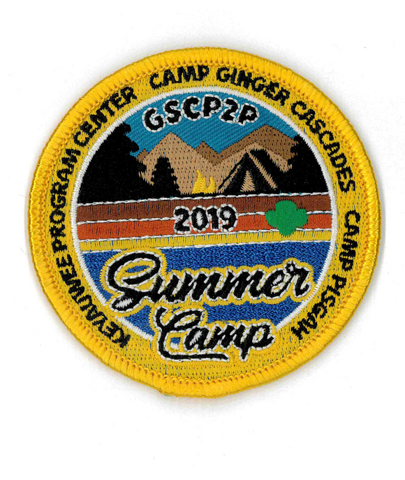 2019 SUMMER CAMP PATCH - 79896