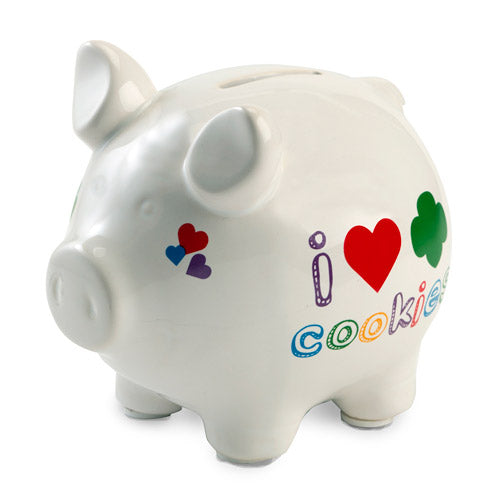 Girl Scout Cookie Piggy Bank - 24981