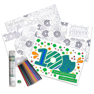 COOKIE POSTER COLORING SET - 35174
