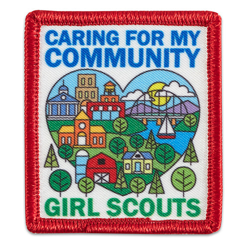 CARING FOR MY COMMUNITY PATCH - 57003