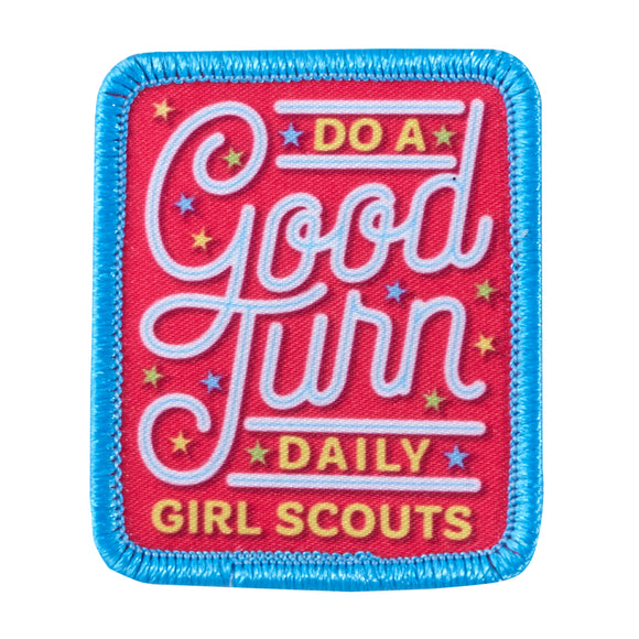 DO A GOOD TURN PATCH - 57064