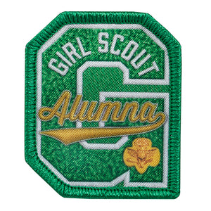 GIRL SCOUT ALUMNA PATCH - 57105