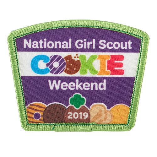 2019 COOKIE WEEKEND PATCH - 57119