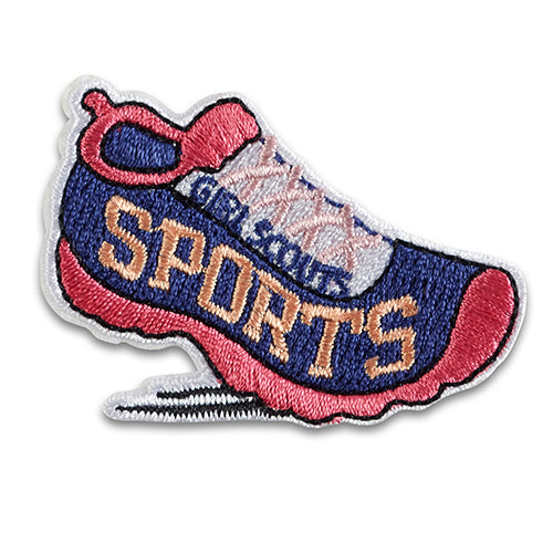 sports sneakers patch - 58420