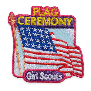FLAG CEREMONY PATCH - 58544