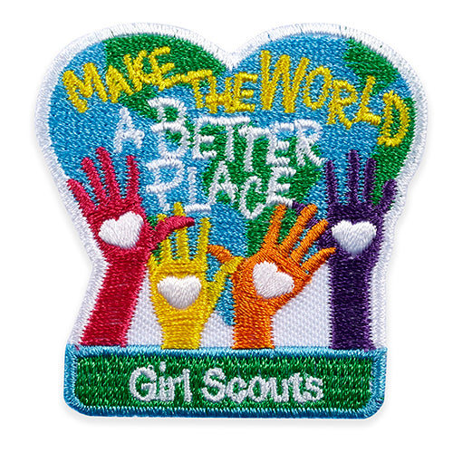MAKE THE WORLD PATCH - 58548