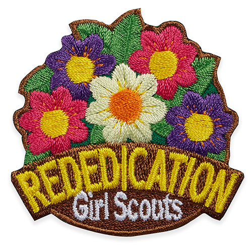 rededication flowers patch - 58550