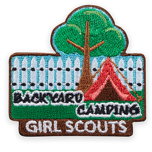 BACKYARD CAMPING PATCH - 58555