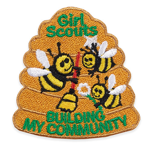 BUILDING MY COMMUNITY BEES - 58556