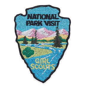 NATIONAL PARK VISIT PATCH - 58561