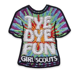 TYE DYE FUN PATCH - 58562