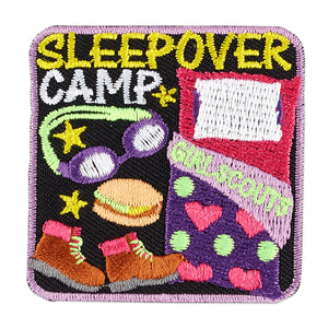 SLEEP OVER CAMP PATCH - 58631