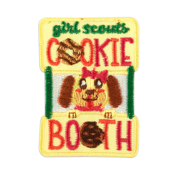 COOKIE BOOTH DOG PATCH - 58638