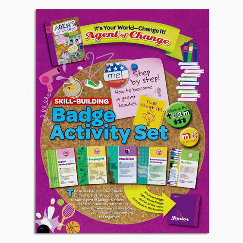 JUNIOR YOUR WORLD BADGE SET - 60301
