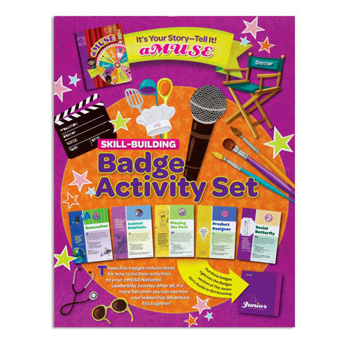 JUNIOR YOUR STORY BADGE SET - 60303