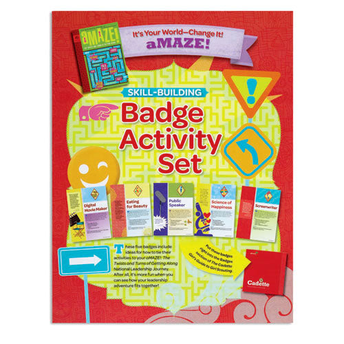 CADETTE YOUR WORLD BADGE SET - 60401