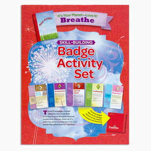 CADETTE YOUR PLANET BADGE SET - 60402