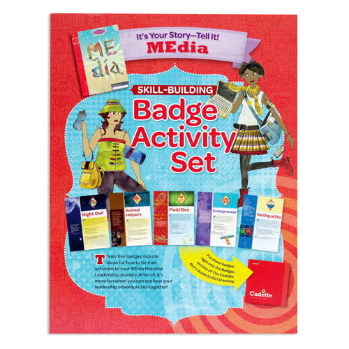 CADETTE YOUR STORY BADGE SET - 60403