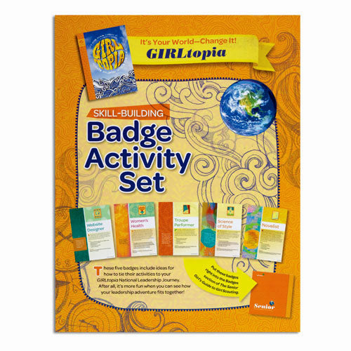 SENIOR YOUR WORLD BADGE SET - 60501