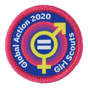 2020 GLOBAL ACTION BADGE - 61009