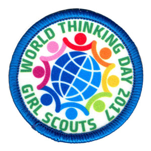2017 WORLD THINKING DAY PATCH - 61015