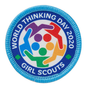 2020 WORLD THINKING DAY PATCH - 61018