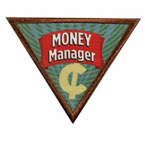 Brownie Financial Literacy Leaf - Money Manager - 61201
