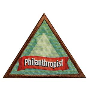 Brownie Financial Literacy Leaf - Philanthropist - 61202