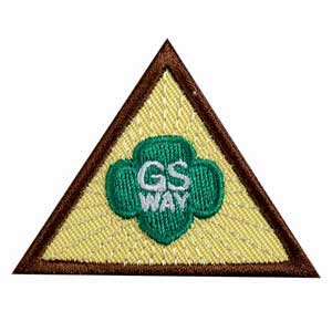Brownie - The Girl Scout Way Badge - 61205