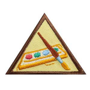Brownie - Painting Badge - 61206