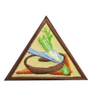 Brownie - Snacks Badge - 61208