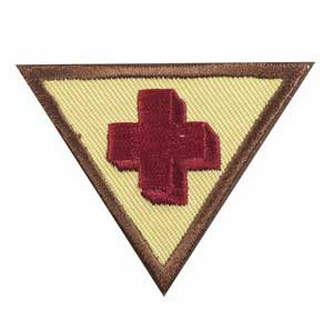 Brownie - First Aid Badge - 61209