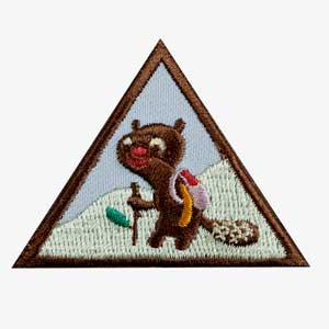 Brownie - Hiker Badge - 61212