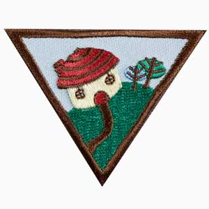 Brownie - Household Elf Badge - 61214