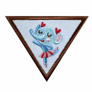 Brownie - Dancer Badge - 61217