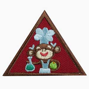 Brownie - Home Scientist Badge - 61221