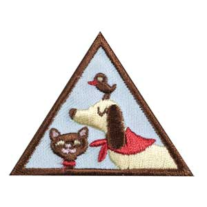 Brownie - Pets Badge - 61222
