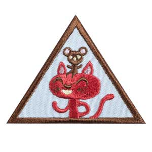 Brownie - Making Friends Badge - 61223