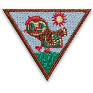 BR OUTDOOR ART CREATOR BADGE - 61230