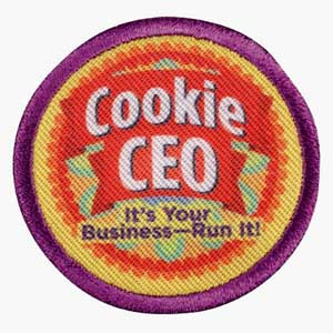 Junior Cookie Business - CEO Badge - 61303