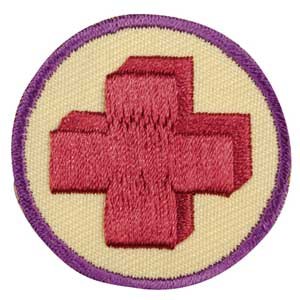 Junior - First Aid Badge - 61309