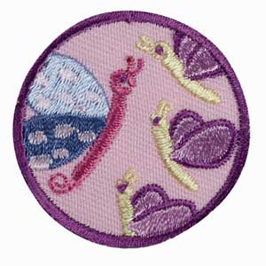 Junior - Social Butterfly Badge - 61323